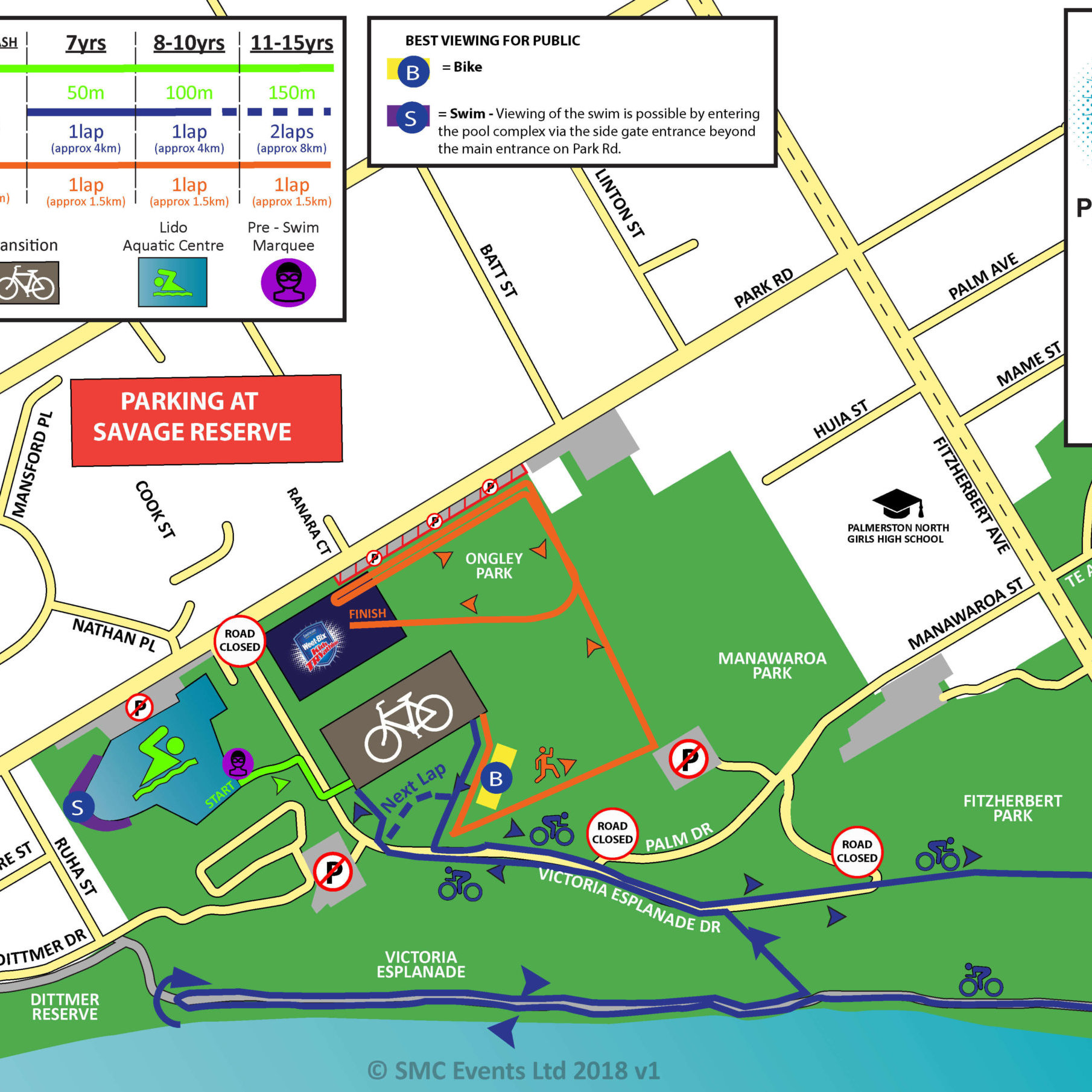 14 - SWBKT Palmerston North Course Map 2020 FINAL