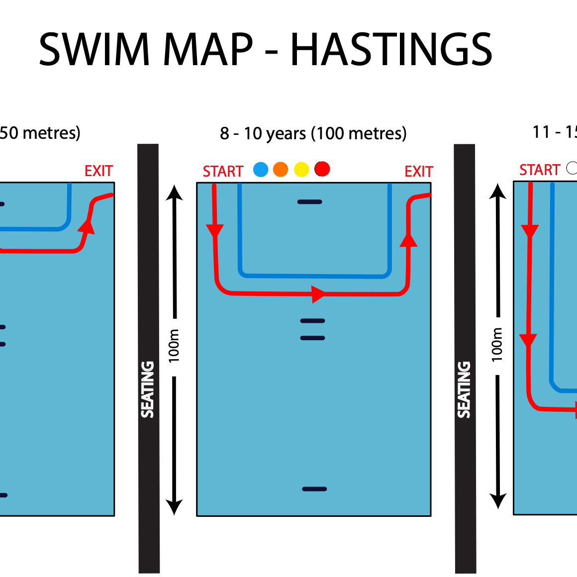 2021 Hastings Swim Map Image