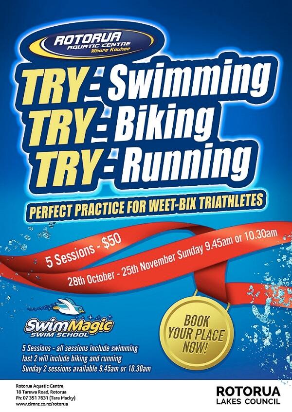 Rotorua Aquatic Centre Training