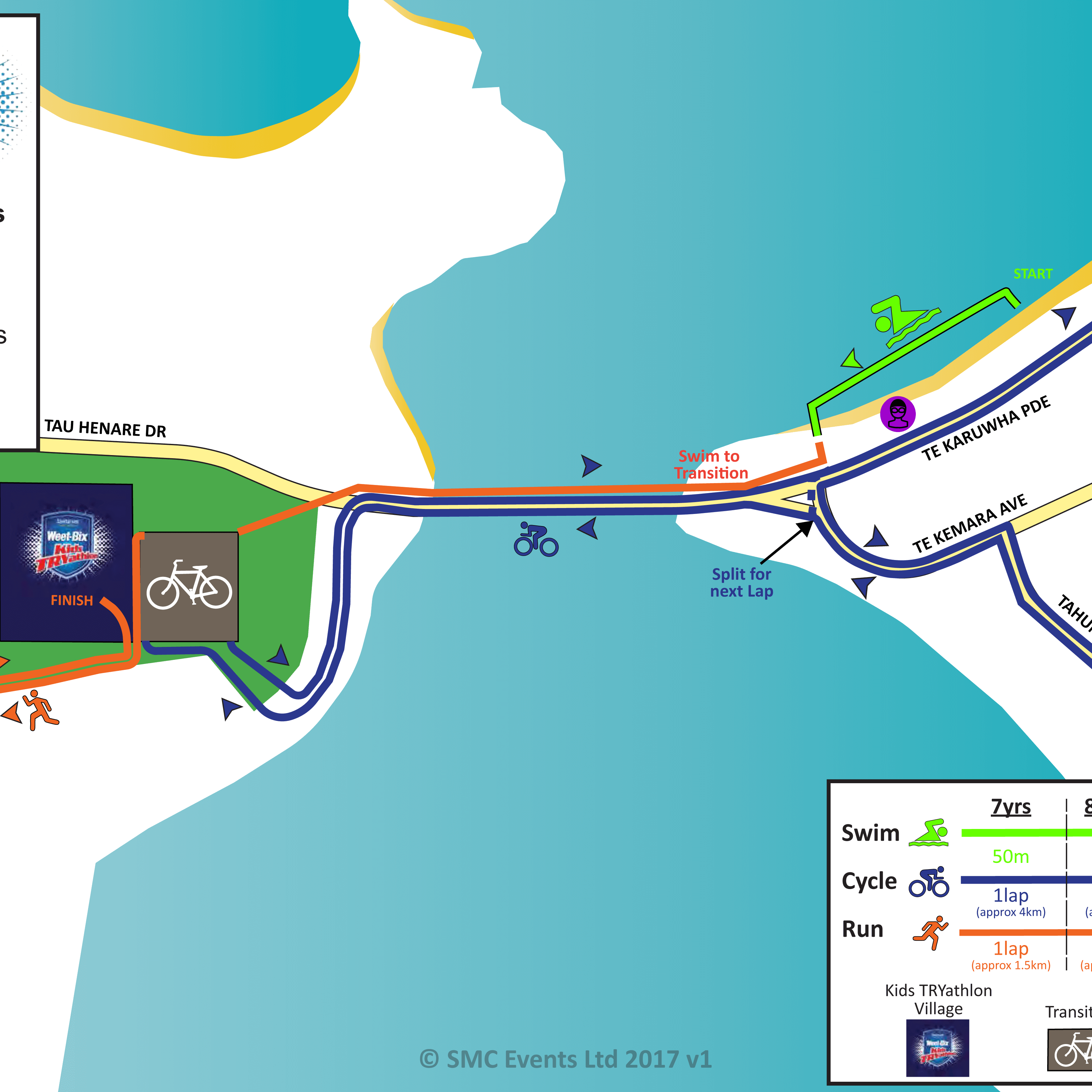 SWBKT Bay of Islands Course Map 2017
